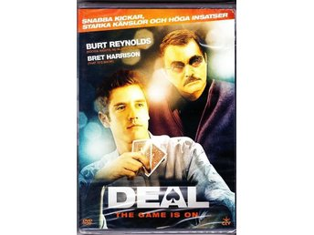 Deal (the Game is on)  - Burt Reynolds - Bret Harrison - Ny!