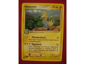 MANECTRIC - POKEMON : (EX RUBY & SAPPHIRE 2003) - 39/109 - Hörby - MANECTRIC - POKEMON : (EX RUBY & SAPPHIRE 2003) - 39/109 - Hörby