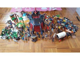 Playmobil 60 gubbar,Borg mm (Stor lot) - Luleå - Playmobil 60 gubbar,Borg mm (Stor lot) - Luleå