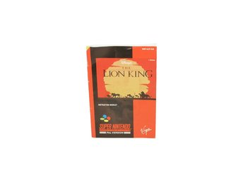 The Lion King (Manual Snes SCN)