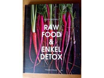 """Boken """"Raw Food & Enkel Detox"""" av Judita Wignall - Svalöv - Boken """"Raw Food & Enkel Detox"""" av Judita Wignall - Svalöv"""