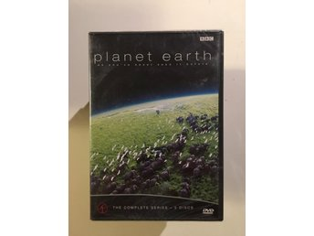 Planet Earth/The complete series-5 disc/Inplastad