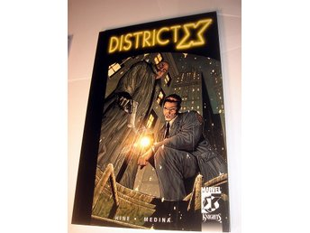 DISTRICT X  MARVEL USA   NY OLÄST    2005