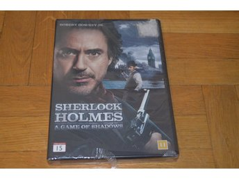 Sherlock Holmes A Game Of Shadows ( Robert Downey jr) 2013 - DVD INPLASTAD