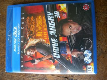 Drive angry Bluray 3D+bluray. Sv text.