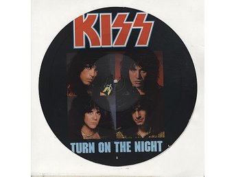 "KISS 'Turn On The Night' 1987 UK 12"" picture-disc"