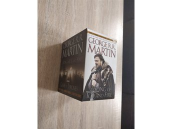 Game of thrones george rr martin song of ice and fire pocketböcker samling
