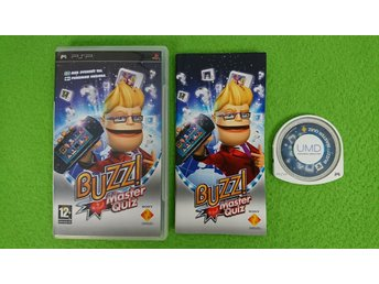 Buzz Master Quiz SVENSK UTGÅVA Psp Playstation Portable Playstation Portable PSP