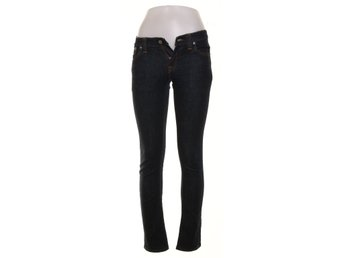 Nudie Jeans, Jeans, Tight Long John, Strl: W26 L34, Mörkblå
