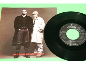 PET SHOP BOYS. SO HARD /IT MUST BE OBVIOUS 1990