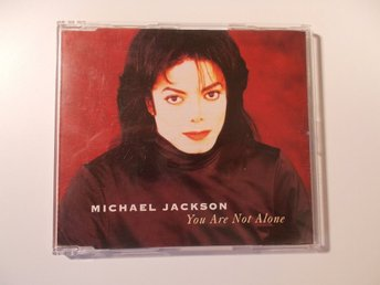 MICHAEL JACKSON - You are not alone, CD singel Epic 1995 EU