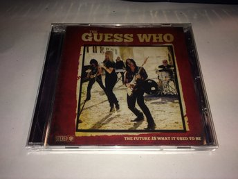 THE GUESS WHO The Future Is What It Used To Be CD 2018 Import