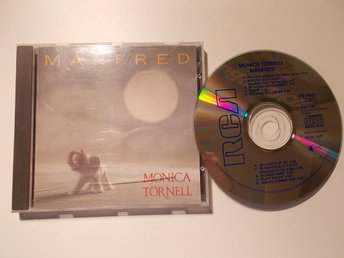 MONICA TÖRNELL - Månfred, gammal CD RCA 1988 Made in West Germany