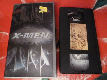 X-MEN, SCIENCE FICTION, FILM, VHS