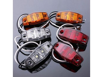 12V Side Marker LED Lights Indicator Lamps for Car Truck ...
