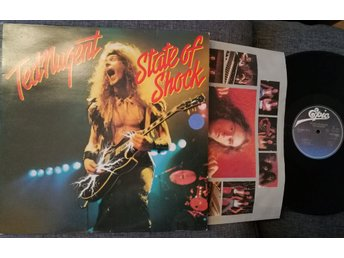 TED NUGENT - STATE OF SHOCK - VINYL 1979