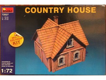 COUNTRY HOUSE    MINIART 1/72 Byggsats