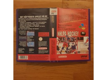 NHLPA Hockey 93 - Hyrbox - Super Nintendo Yapon SNES