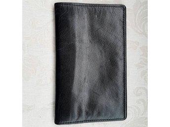 plånbok skinn dragkedja