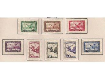Ungern 1927 Flygpost * Mi 430-437 - Vittsjö - Ungern 1927 Flygpost * Mi 430-437 - Vittsjö
