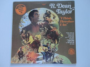 R. DEAN TAYLOR: I THINK, THEREFORE I AM. 1970. LP. US ORIG. VG++./VG++.