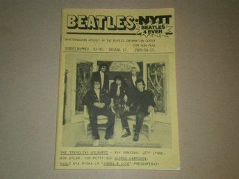 BEATLES-NYTT #92-93 (April 1989) - Fint Skick!