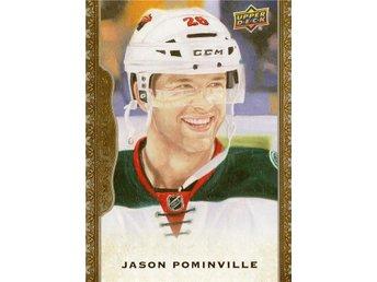 2014-15 UD Masterpieces #017 Jason Pominville - Kalmar / Sweden - 2014-15 UD Masterpieces #017 Jason Pominville - Kalmar / Sweden
