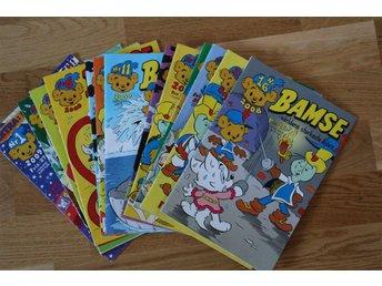 14 Bamse tidningar från 2008-2010 mycket fint skick - Halmstad - 14 Bamse tidningar från 2008-2010 mycket fint skick - Halmstad