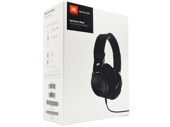 JBL Synchros S500 Powered Over-Ear Stereo Headphones, Black.