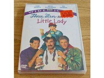 DVD: Tre Män och en Liten Tjej (1990) Tom Selleck - Ted Danson - Bagarmossen - DVD: Tre Män och en Liten Tjej (1990) Tom Selleck - Ted Danson - Bagarmossen