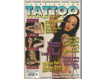 SCANDINAVIAN TATOO MAGAZINE NR 102 -2010 - GIRLS,GIRLS,GIRLS