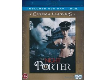 The Night Porter.. Blu-Ray + DvD.. Ny/Inplastad.. OOP!!