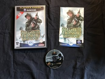 MEDAL OF HONOR FRONTLINE  NINTENDO GAMECUBE GC BRA SKICK