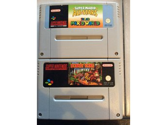 Supernintendo spel Donkey Kong country, Super mario all stars super Mario World