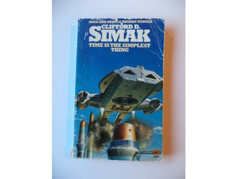 Clifford D. Simak Time is the Simplest Thing engelsk pocket tryckår 1980