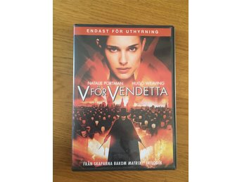 V for vendetta dvd-film