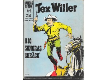 TEX WILLER KANSAS SERIEN