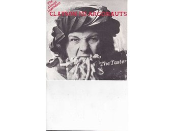 "Clayson And The Astronauts - 7"" -The taster/Landwaster (Live)"