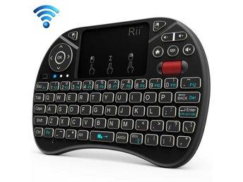Trådlöst Mini Tangentbord med Full Touchpad med belysning 372dcdbd25263