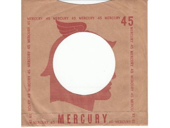1 st Mercury Records Original Bolags Påse/Omslag