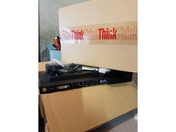Lenovo Thinkpad Dockning station + laddare(NY)