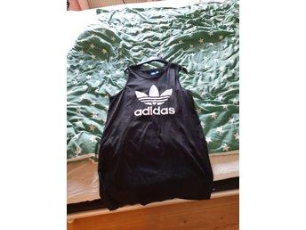 Adidas klänning lång linne stl m (419428577) ᐈ Köp på Tradera