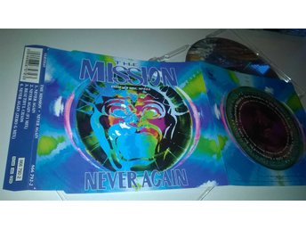 The Mission - Never Again, CD, Single, rare!