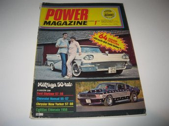 Power 1978-1 Cadillac 1958.Cheva Nomad 1955-57.Skyliner 1957