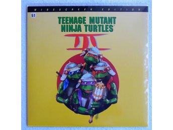 """Laserdisc """"Teenage Mutant Ninja Turtles 3"""" - Ramlösa - Laserdisc """"Teenage Mutant Ninja Turtles 3"""" - Ramlösa"""