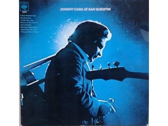 Johnny Cash titel* Johnny Cash At San Quentin* Rock, Country Rock UK LP - Hägersten - Johnny Cash titel* Johnny Cash At San Quentin* Rock, Country Rock UK LP - Hägersten