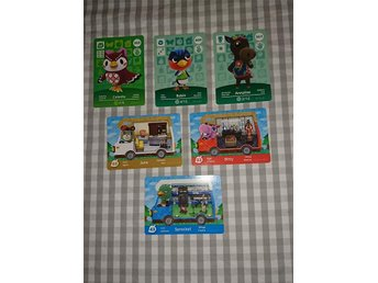 Animal Crossing - Amiibo Cards