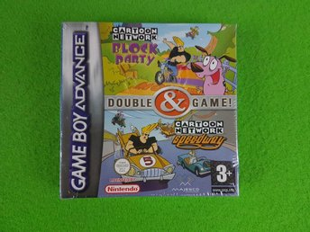 Cartoon Network Block Party & Speedway NYTT INPLASTAT GBA Gameboy Advance