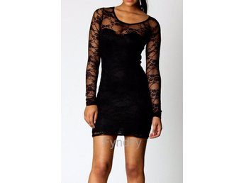 Damtröja Lace Dress Bodycon Strlk Small