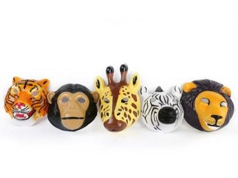 Carneval Animal Mask 5-Pack Temerity Jones